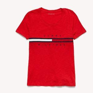 Tommy Hilfiger Flat Logo T-Shirt (Brand New)